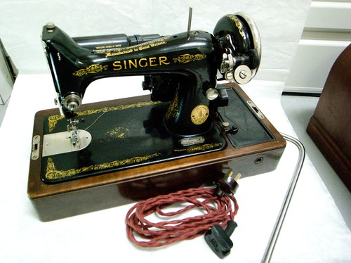 how to thread an electric singer sewing machine