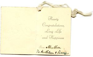 """Fom the """"Mother of the Bride, my Nana, Elizabeth Mary (Murray) Allen. (c) C.Crout-Habel"""