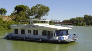 Houseboat on the River Murray