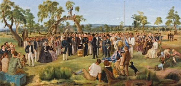 The Proclomation of South Australia. 28 Dec 1836