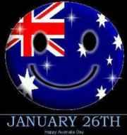 Australia Day Smiley Face
