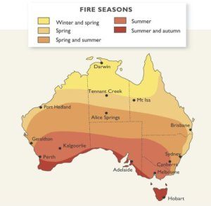 bushfire seasons