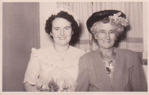 My mum... and her mum 2 years before Nana died (c) 2013. C.Crout-Habel