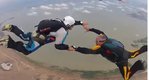 "A skydiving ""buddie"" and Cullen -  friendship and trust"