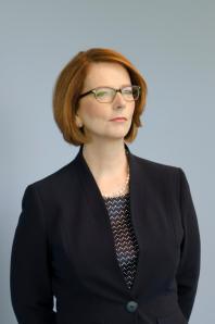 Australian Prime Minister, Julia Gillard. March 2013
