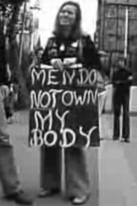 Women's Year. 1975. owning my body