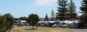 Nashwauk. Moana Beach Tourist Park. panorama