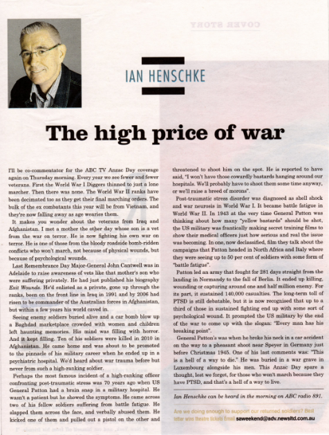 The High Price of War.2