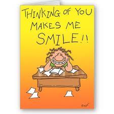 THINKING - makes me smile