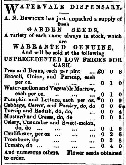 TROVE. Northern Argus 13May1870p.1