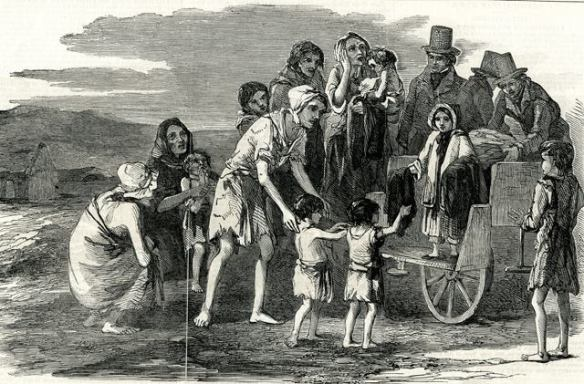 Famine via Clare Herald re. 31Jul1848