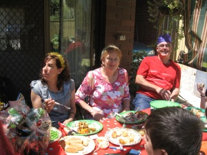 Sylvia, Pat & Culllen... happy times
